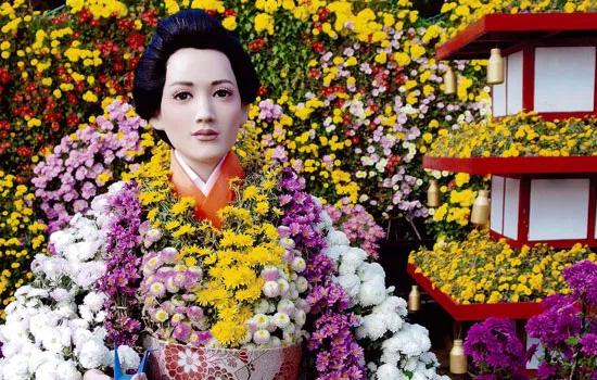 二本松の菊人形の歴史