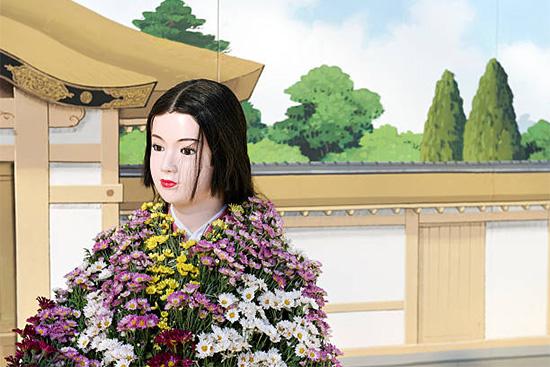 菊人形を怖がらずに観賞する方法